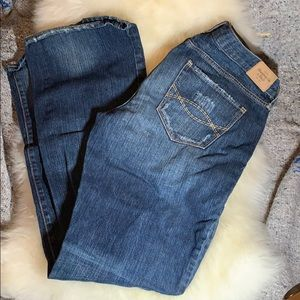 Abercrombie and Fitch Emma boot cut jean
